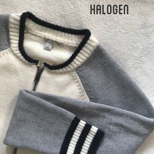 ✺ Halogen Track Sweater ✺